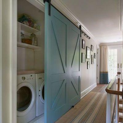 6 ideas para ocultar la lavadora a la vista