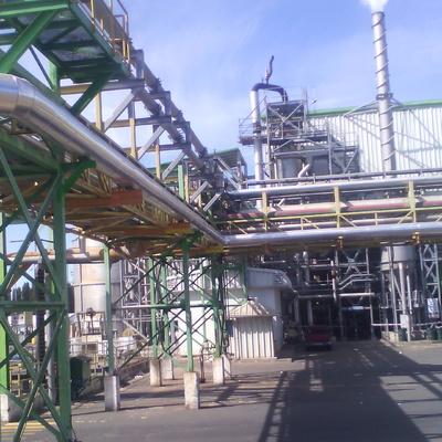 """Montaje de Linea de Vapor 12"""" a Calderas Compos Energías Industriales Proyecto CO M450 CMPC Planta Maule"""