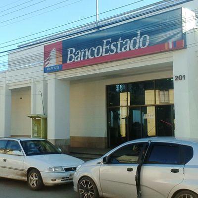 Mantención Suc. Banco Estado, Chanco.