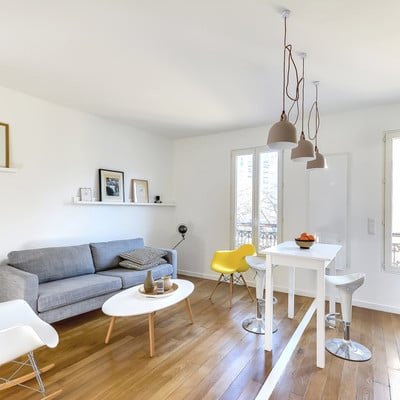 5 ideas que copiar de este mini departamento