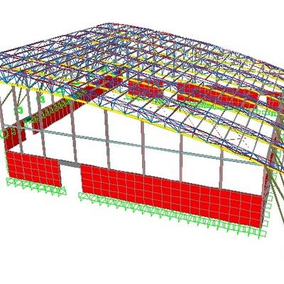 Ingenieria estructural complejo deportivo