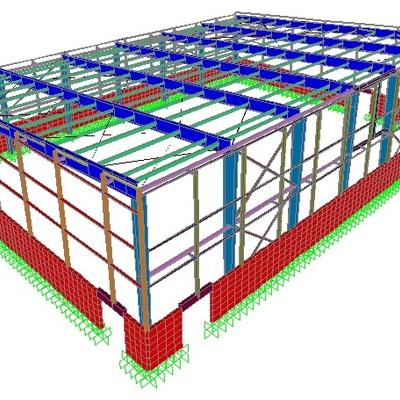 Ingenieria estructural polideportivo