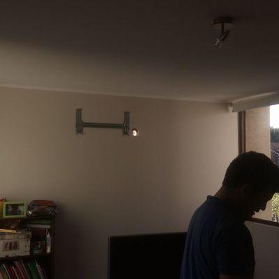Instalacion equipos condominio los abedules, chicureo casa 8