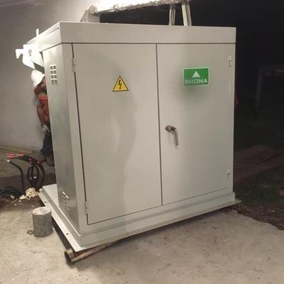 reemplazo trasformador pad mounted 600 kva