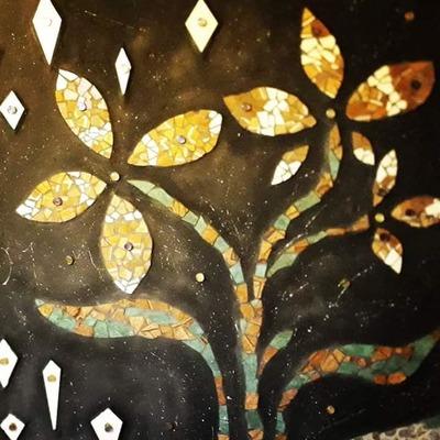 Instalación de cerámica - Mosaico - Lucarnas