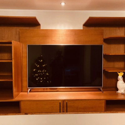 Diseño de mueble TV