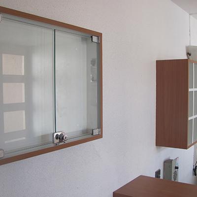 Mueble recepción Condomino edificio Real Bone