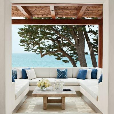 Muebles de obra terraza