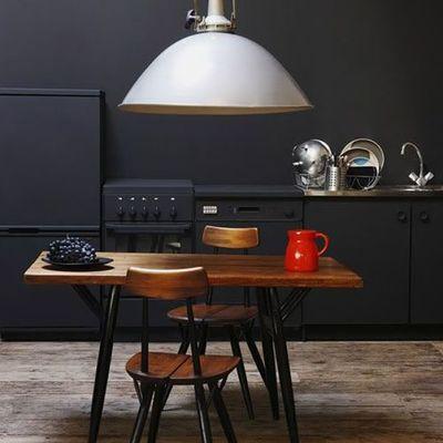 Muebles y electrodomésticos del mismo color
