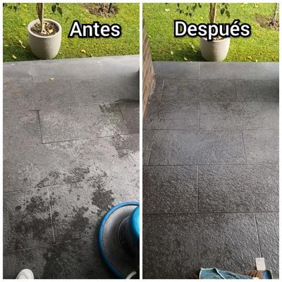 Limpieza de suelos, cerámicos, baldosas y pisos flotantes.