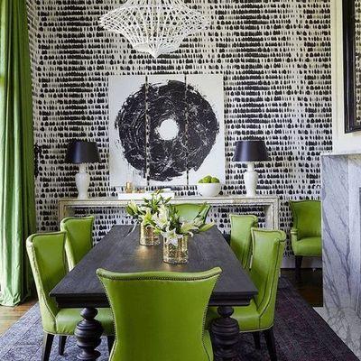 negro y verde