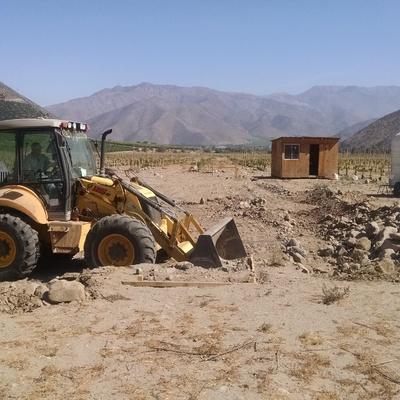 CONSTRUCCIÓN RADIER Y GALPÓN, PACKING EL TAMBO REAL, VICUÑA, COQUIMBO