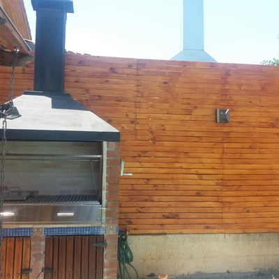 Remodelacion quincho y jardin en Peñalolen