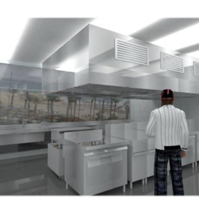 """Render y cálculo de proyecto """"Burger Home Reñaca"""""""