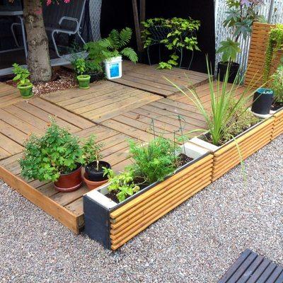 Ideas y fotos de piso de palets para inspirarte habitissimo for Arreglar jardin abandonado