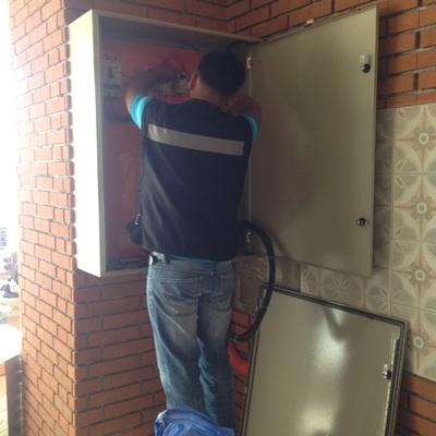 Instalacion Electrica Panaderia Panqueque