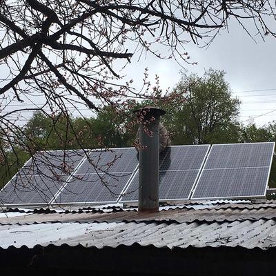 Paneles fotovoltaicos oficinas Stellandina