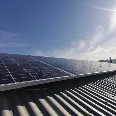 Paneles solares Colegio