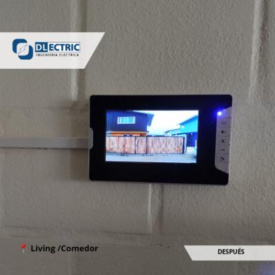 Instalación de sistema de vídeo portero + llaveros RFID