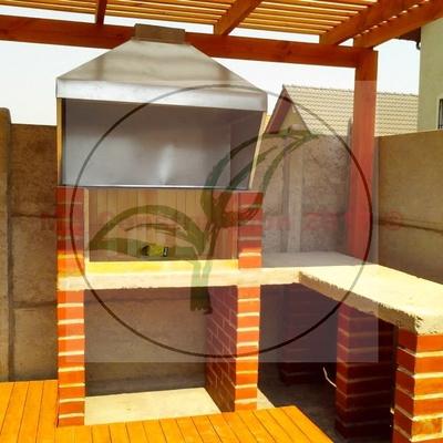 Parrillas o quinchos construidas por MH Construccion y Jardines
