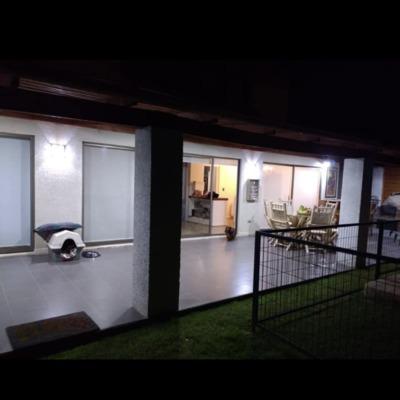 Proyecto Iluminación exterior Casa habitación, Machali