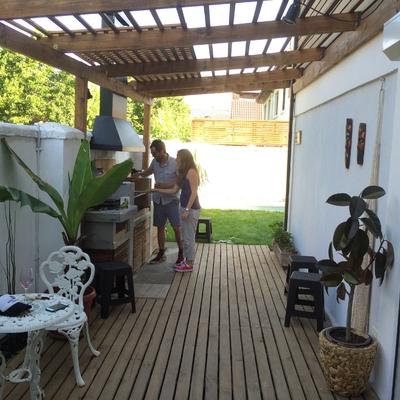 Remodelacion y ampliación de la casa La Capitania