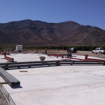 Construcción de Galpón Agrícola Tambo Real, Vicuña, Coquimbo