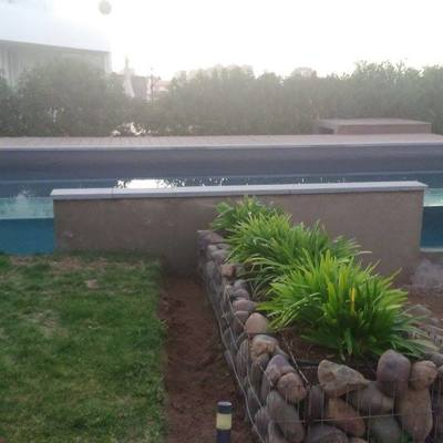 Piscina lateral