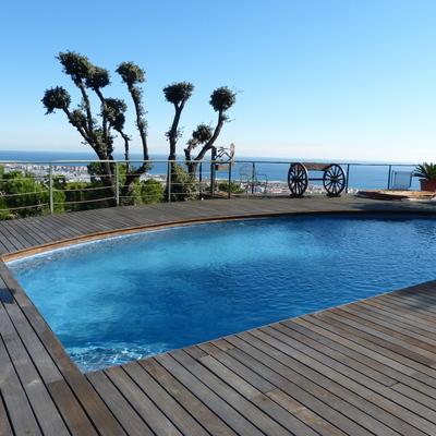 Construcción piscina microcemento