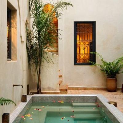 Ideas que podemos robar de piscinas pequeñas