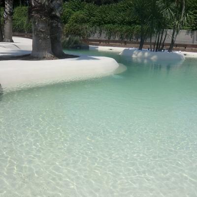 Ideas y fotos de piscina de arena para inspirarte habitissimo - Imagenes de piscinas de arena ...