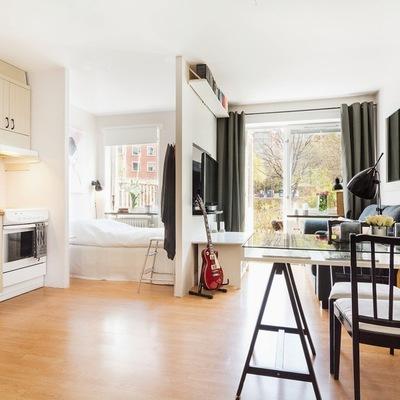 Descubre 5 departamentos que aprovechan sus escasos 40 m²