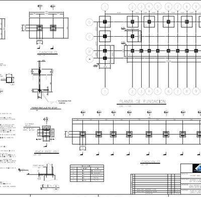 Proyecto de Calculo Galpón Oficinas 160 m2