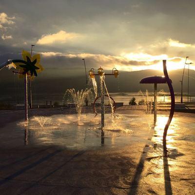 Plaza de agua Chiguayante