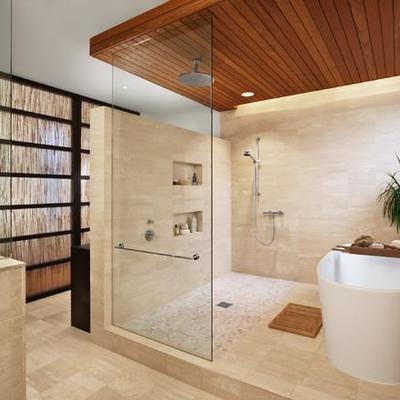 7 materiales tendencia para remodelar tu baño