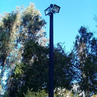 ILUMINACION EXTERIOR CON PROYECTORES LED