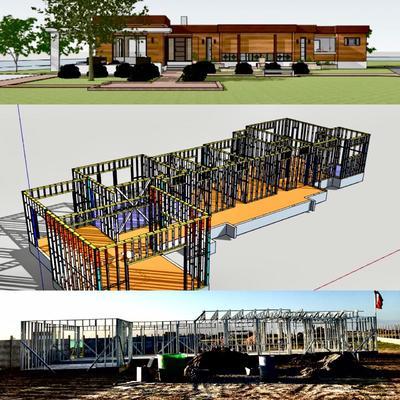 Diseño & Ejecución de Vivienda - Casa Dominga