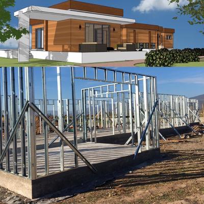 Proyecto Diseño & Ejecución Constructiva Vivienda - Casa Dominga