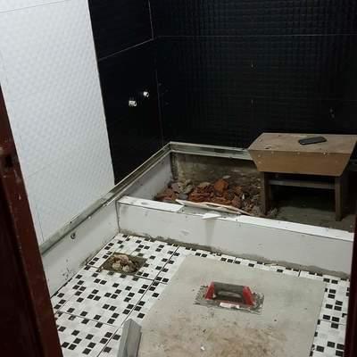 Remodelación de baño + trabajo de gasfitería.