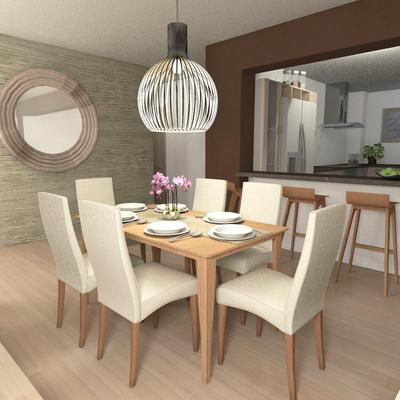 Diseño Interior Living / Comedor
