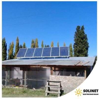 Proyecto realizado en Chillán por Solinet Electricidad Solar. ☀️. Sistema On-grid de 2 kVA.