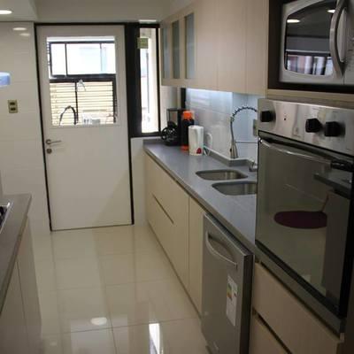 Proyecto de cocina comuna Nuñoa calle Roberto del Rio