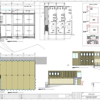 Edificio Modular Container - Hatchery ULagos.