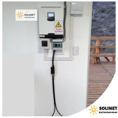 Proyecto realizado en Curacaví por Solinet Electricidad Solar ☀️ Sistema Off-grid de 3 kVA