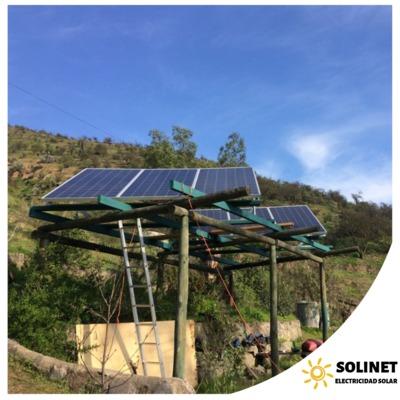 Proyecto realizado en Curacaví por Solinet Electricidad Solar ☀️ Sistema On-grid de 2 kVA