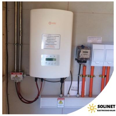 Proyecto realizado en Olmué por Solinet Electricidad Solar ☀️ Sistema On-grid de 3 kVA