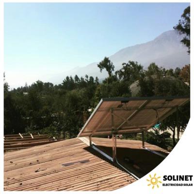 Proyecto realizado en Peñalolén por Solinet Electricidad Solar ☀️ Sistema Híbrido Off-grid de 3 kVA y On-grid de 2,5 kVA