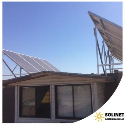 Proyecto realizado en Puente Alto por Solinet Electricidad Solar ☀️ Sistema On-grid de 3 kVA