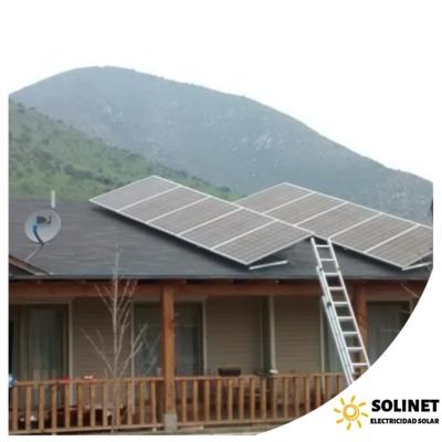 Proyecto realizado en Lonquén por Solinet Electricidad Solar. ☀️. Sistema On-grid de 3 kVA.