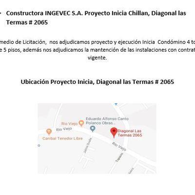 CONSTRUCTORA INGEVEC PROYECTO INICIA CHILLAN